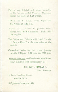 1929 Isthmian Lge v Spartan Lge 3small