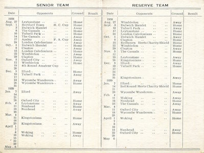 1938 39 Fixture card394 small