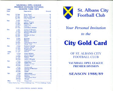 1988 89 City Gold Card 1 small
