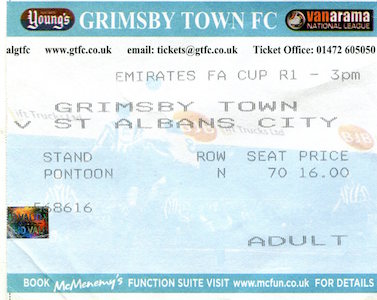 2015 16 Grimsby Town away small
